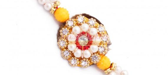 Premium Stone Rakhi