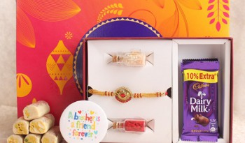 send Rakhi with chocolates