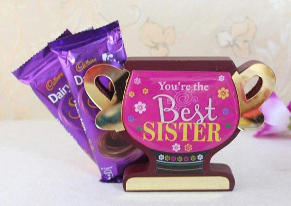 Rakhi Return Gifts for Sister