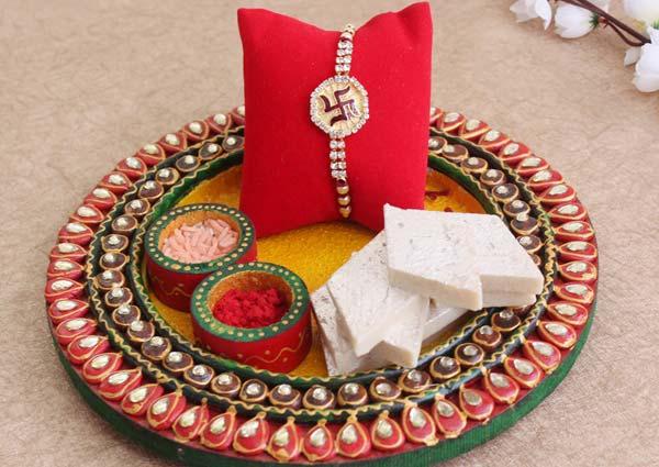 Prepare a Wholesome Rakhi pooja Thali