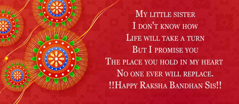 Raksha Bandhan (Rakhi) Messages for sister