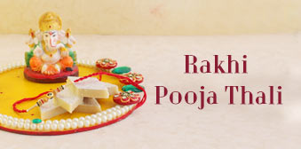Rakhi Pooja thali to UAE