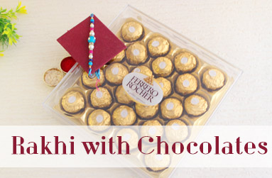 Rakhi with Chocolates to UAE