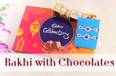 Rakhi with Chocolates to canada