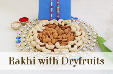Rakhi with Dryfruits to UAE