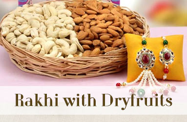 Rakhi with Dryfruits to Australia