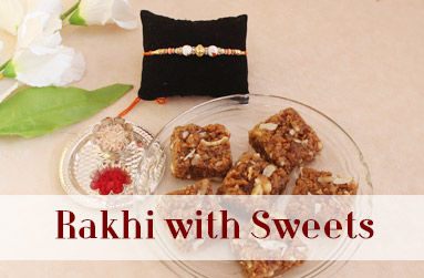 Rakhi with Sweets to UAE