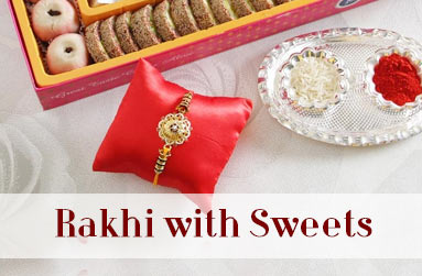Rakhi with Sweets to Canada
