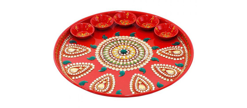 Sandalwood Thali Decoration