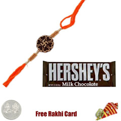 Hershey Milk Chocolate Bar  Rakhi Special