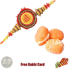 1 Rakhi with Chum Chum and a Free Silver Coin