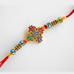 Colorful Sparkling Rakhi