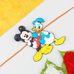 1 Kids Rakhi Micky-Donald