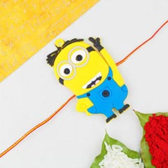 1 Kids Rakhi The Minion