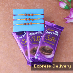 Rakhi with Dairy Milk