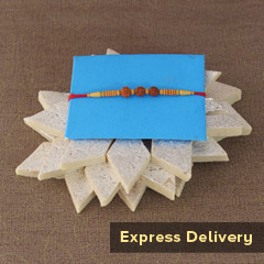 Rakhi with Kaju Delight