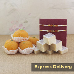 The Delightful Rakhi Gift