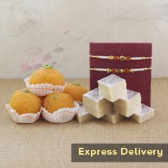 The Delightful Rakhi Gift