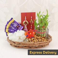 Magical Rakhi hamper