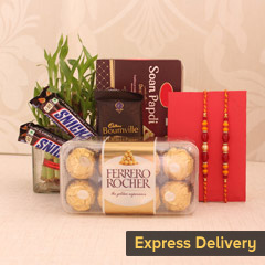 Attractive Rakhis Hamper