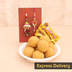 Sweet Rakhi Love for Bhaiya Bhabhi