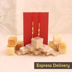Joy of Sweets and Rakhi
