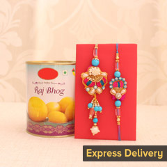 Bond of Love Rakhi Set