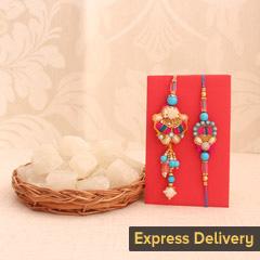 Appealing Sweet Rakhi Combo