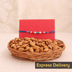 Crunchy Almond and Rakhi Combo