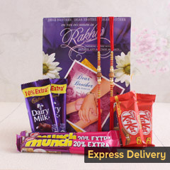 A chocolaty Rakhi surprise