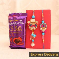 Rakhi Surprise for Bhaiya Bhabhi