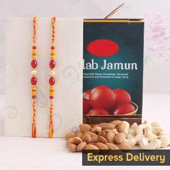 Sweet Crunchy Rakhi Delight