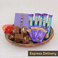 Rakhi Basket of Sweetholics