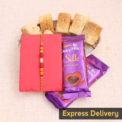 Love for Sweets Rakhi Combo