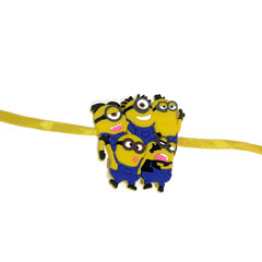 Minions Rakhi with Free Silver Coin