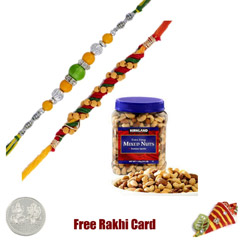 2 Rakhis Kirkland Mixed Nut Jar