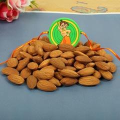 Dry Fruit Rakhi Set Pooja Thali Hamper