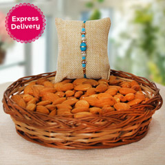 Almonds n Rakhi Combo