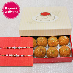 Laddu Treat for Brothers