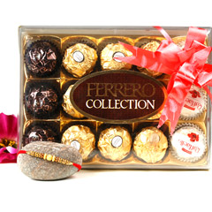 Golden Crafted Rakhi Ferrero Rocher  Collection