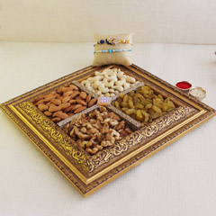 Healthy Tray of Delights with Rakhis