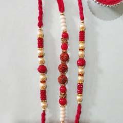 Graceful Rudraksha Rakhi Collection
