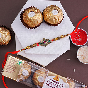 RAKHI COMBO FOR SWEET BROTHER