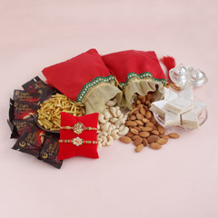 Divine and Delightful Rakhi Hamper