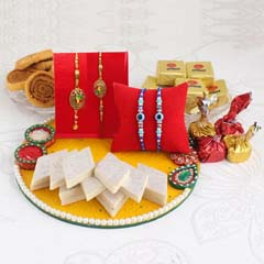 Breathtaking Family Rakhi Hamper