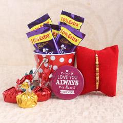 Chocolaty Wonder for Rakhi