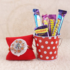 Tom & Jerry Rakhi with Chocolates