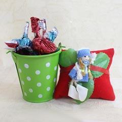 Doll Rakhi Chocolate Combo