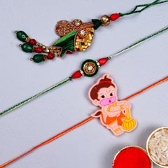 Unique Family Rakhi Set