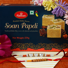 Traditional Rakhi Set Sweet Hamper